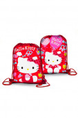 Saco Mochila Hello Kitty Lacinho 39cm