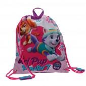 Saco mochila Lanche/Desporto da Patrulha Pata-Girl Pup Power