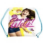 Saco mochila lanche Sou Luna Way