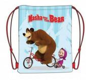 Saco Mochila Masha e o Urso 40cm