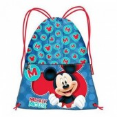 Saco Mochila Mickey Disney 26cm