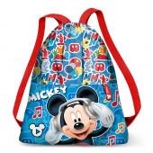 Saco Mochila Mickey Music 41cm