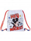 Saco Mochila Mickey Things 34cm