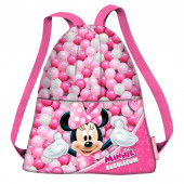 Saco mochila Minnie Bubblegum 41cm