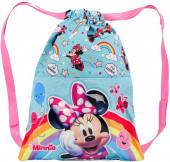 Saco Mochila Minnie Rainbow Disney 34cm