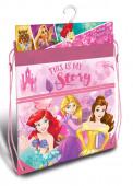 Saco Mochila Princesas Disney 42cm