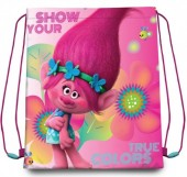 Saco Mochila Trolls Poppy 41cm  True Colors