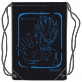 Saco Mochila Vegeta Dragon Ball Azul 45cm