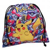 Saco pequeno Pokemon Pikachu - 25cm