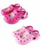 Sandálias Crocs borracha Frozen Disney 12Und T.26-34