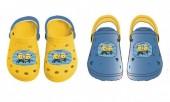 Sandálias Crocs borracha Minions sortido