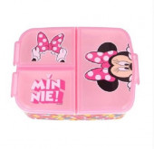 Sanduicheira 3 Divisórias Minnie So Edgy Disney