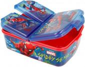 Sanduicheira 3 Divisórias Spiderman