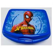 Sanduicheira Azul Spiderman Marvel