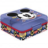 Sanduicheira Quadrada Compartimentos Mickey