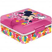 Sanduicheira Quadrada Compartimentos Minnie