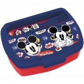 Sanduicheira + Talheres Mickey Disney