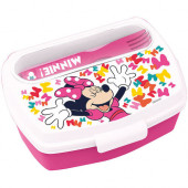 Sanduicheira + Talheres Minnie Disney