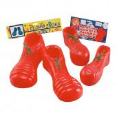 Sapatos Palhaço Vermelhos Criança