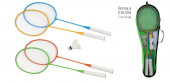 Set Badminton Completo 4 Jogadores