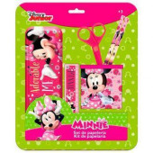 Set Minnie Mouse Papelaria Disney