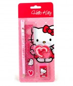 Set Papelaria Hello Kitty