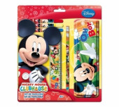 Set Papelaria Mickey Mouse Disney