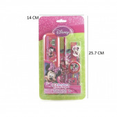 Set Papelaria Minnie Mouse Disney