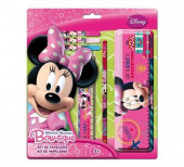Set Papelaria Mouse Minnie Disney