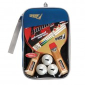 Set Ping Pong Raquetes + 3 Bolas