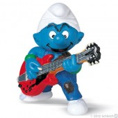 Smurf Guitarrista (Lead Guitar Player) - Colecção Favoritos