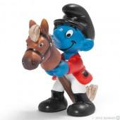 Smurf Jockey (Rider) - Colecção Desporto
