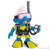 Smurf Mergulhador (Scuba-Diver) - Colecção Favoritos