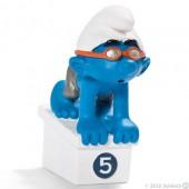 Smurf Nadador (Swimmer) - Colecção Desporto