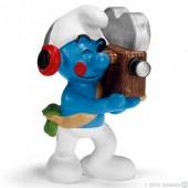 Smurf Operador Camera (Cameraman) - Colecção Cinema
