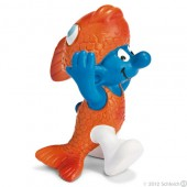 Smurf Peixes (Pisces) - Colecção Signos