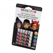 Snazaroo Barras Pintura Facial Halloween Pack 6