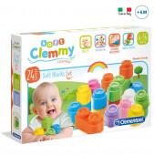 Soft Clemmy 24 Blocos Empilháveis
