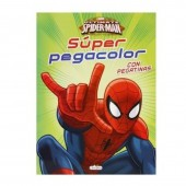 Super livro colorir Marvel Spiderman