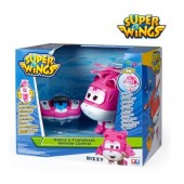 Super Wings - Dizzy Transformável + controle de rádio