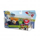 Super Wings Pack 4 Figuras Transformáveis II temporada