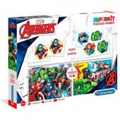 Superkit Puzzles + Jogos Avengers