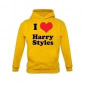 Sweat com capuz I Love Harry Styles (6 cores)