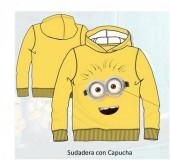 Sweat shirt Yellow Minions 6 Und.