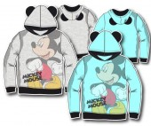 Sweat Tshirt C/Capuz com Orelhas Mickey Mouse