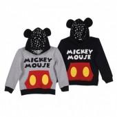 Sweatshirt C/Capuz com Orelhas Mickey Mouse - Sortido
