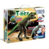 T-Rex com luzes e sons
