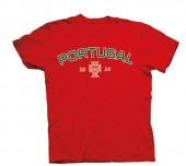 T-Shirt Adulto Portugal Vermelha