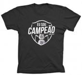 T-Shirt Adulto Sporting Campeão 2020/2021 Preto