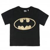 T-shirt Batman Preta